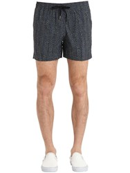 Danward Printed Nylon Swim Shorts