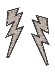Mignonne Gavigan Lightning Earrings White