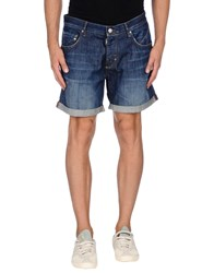 Antony Morato Denim Denim Bermudas Men Blue