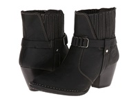 Lobo Solo Marisa Black Leather Women's Pull On Boots