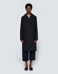 Christophe Lemaire Trench Coat In Black