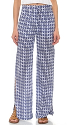 Twelfth St. By Cynthia Vincent Wide Leg Slit Pants