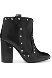 Laurence Dacade Pete Studded Leather Ankle Boots Black