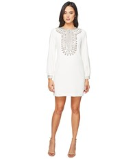 Trina Turk Kapono Dress Whitewash Women's Dress Bone