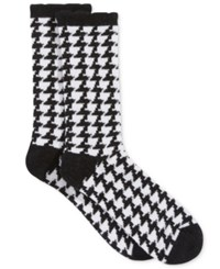 Charter Club Women's Menswear Cashmere Socks Only At Macy's Black