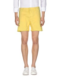 M.Grifoni Denim Bermudas Yellow