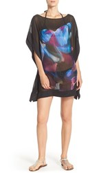 Women's Ted Baker London 'Moria Cosmic Bloom' Cover Up Tunic