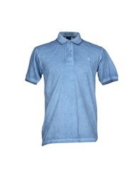 Bramante Topwear Polo Shirts Men Sky Blue