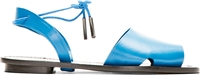 Maiyet Blue Leather Desert Sandal