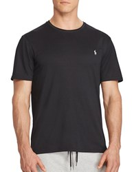 Polo Big And Tall Solid Performance Jersey Tee Polo Black