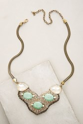 Anthropologie Oriana Necklace Gold