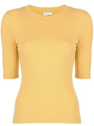 Rosetta Getty Cropped Sleeves T Shirt 60