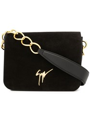 Giuseppe Zanotti Design Lisa Clutch Bag Black