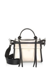 Elena Ghisellini Angel Translucent Satchel Black