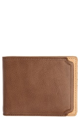 Trafalgar 'Gramercy Park' Leather Wallet With Removable Passcase Brown