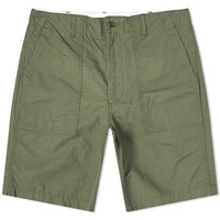 Engineered Garments Ripstop Fatigue Short Green
