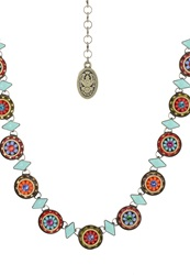 Konplott Oriental Necklace Multi Antique Brass Multicoloured