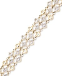 Wrapped In Love Diamond Link Bracelet 1 Ct. T.W. 14K Gold Only At Macy's Yellow Gold