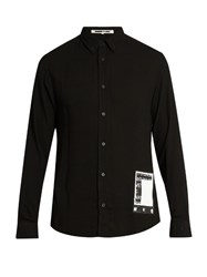 Mcq By Alexander Mcqueen Slim Fit Long Sleeved Shirt Black