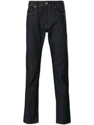 Diesel Black Gold Straight Leg Trousers Blue