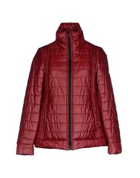 Tanomu Ask Me Coats And Jackets Jackets Women Brick Red