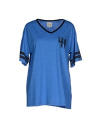 Selected Femme T Shirts Blue