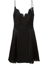 Givenchy Floral Lace Cami Dress Black