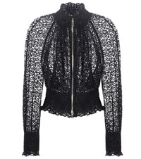 Stella Mccartney Naomi Lace Jacket Blue