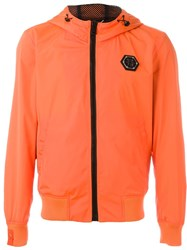 Philipp Plein 'Fresh Prince' Jacket Yellow And Orange