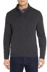 Nordstrom Shop Shawl Collar Cashmere Pullover