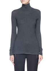 Rag And Bone 'Layering' Long Sleeve Turtleneck T Shirt Grey