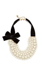 Kate Spade New York Girly Pearly Necklace Cream Multi