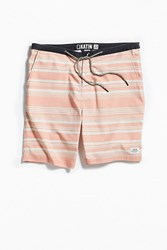 Katin Horizon Stripe Hybrid Short Peach