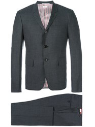 Thom Browne Trouser Suit Men Cupro Wool 1 Grey