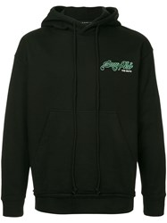 Song For The Mute Back Print Hoodie Black