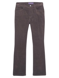 Violeta By Mango Flared Corduroy Trousers Medium Brown