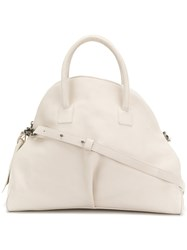 Marsell Trapeze Tote White