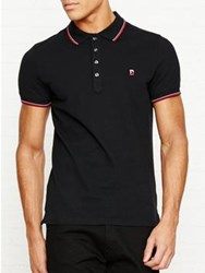 Diesel Skin Short Sleeve Polo Shirt Black