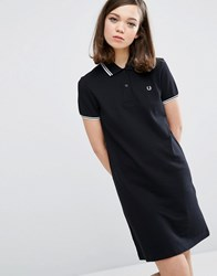 Fred Perry Twin Tipped Dress Black