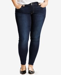Levi's Plus Size 310 Shaping Super Skinny Jeans Dark Blue