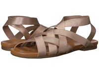 Yellow Box Pecan Rose Gold Women's Dress Sandals