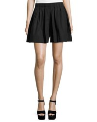 Marc Jacobs Pleated Poplin Skort Black
