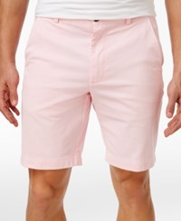 Brooks Brothers Red Fleece Men's Flat Front Cotton Shorts Light Pink