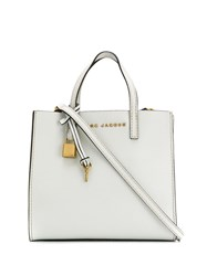 Marc Jacobs The Grind Mini Tote White