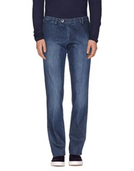 Maestrami Denim Denim Trousers Men Blue