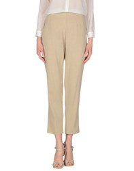 Antonio Fusco Trousers Casual Trousers Women Beige