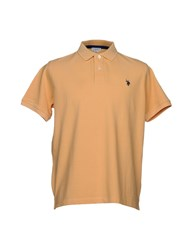 U.S. Polo Assn. U.S.Polo Topwear Shirts Orange