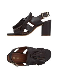 Bruno Premi Footwear Sandals Women Dark Brown