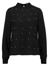 Fashion Union Diana Blouse Black