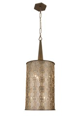 Varaluz Iconic Tall Pendant Brown